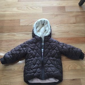 Clothes, Shoes & Accessories Baby Alert Benetton Baby Pink 6-9 Month Snowsuit Coat A Complete Range Of Specifications